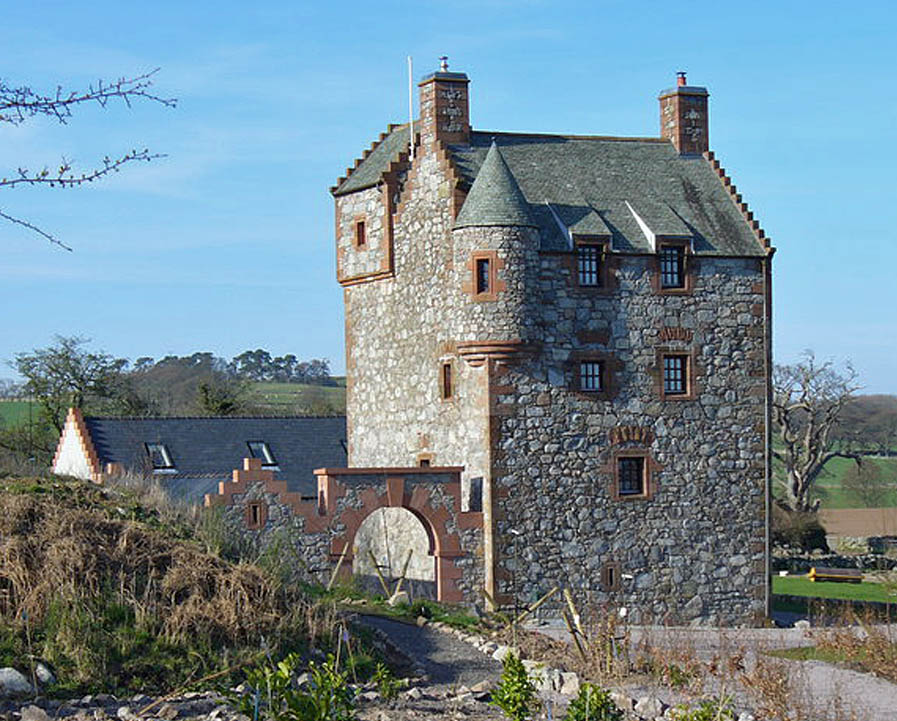 Abbotu0027s Tower Is A Small L Plan Tower House Consisting Of Four Stories And  A Windowless Garret. The Stair Tower Is Topped With A Caphouse, ...