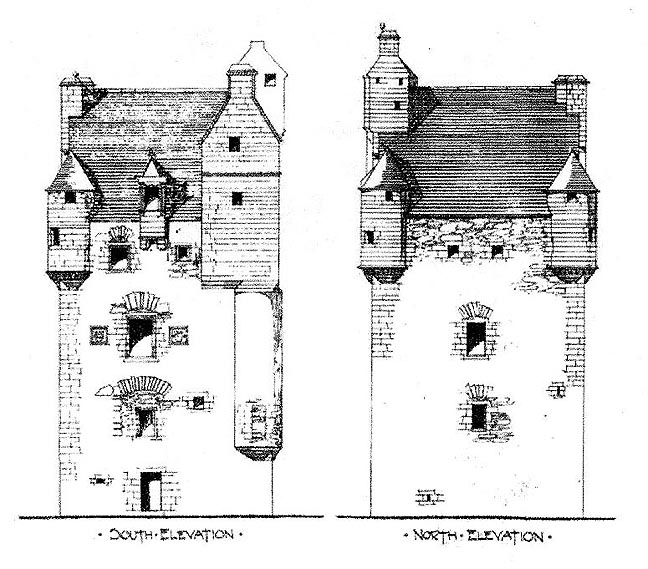 The gallery for scottish castle house plans for Castle house plans with towers