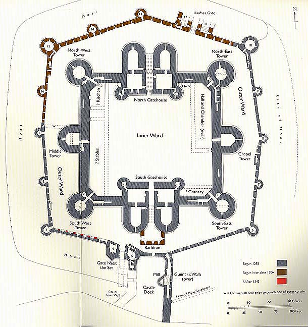 Go With The Flo Design History Medieval Period - Diagram of medieval castle layout