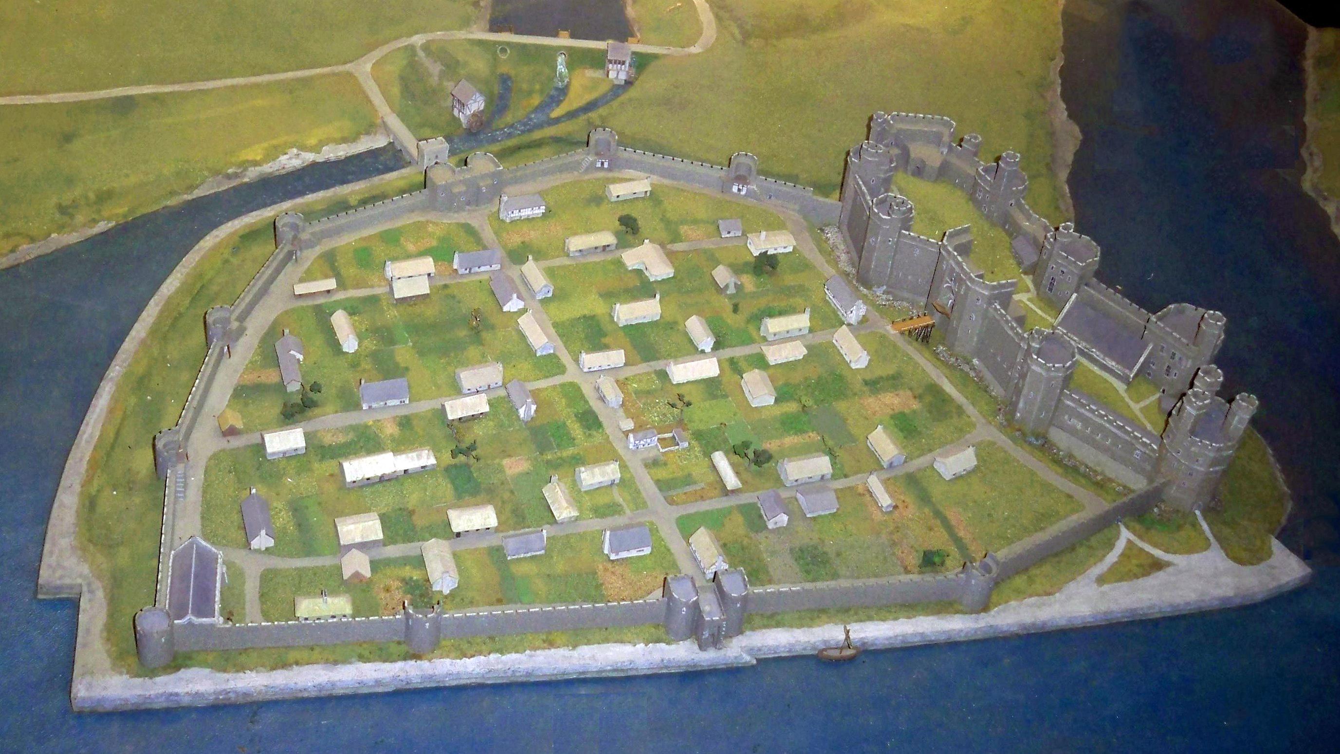 Floor Plans For Castles Caernarfon