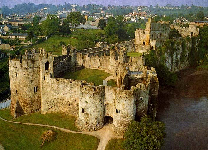 Castle Photography Chepstow Chepstow Castle is One of The