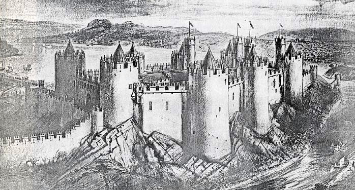 Tall Castle Drawing Drawing of The Castle