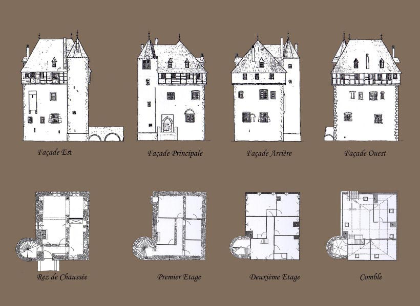 Crupet for Small castle floor plans