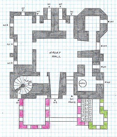 Meval Castle Floor Plans - The Tudors Wiki