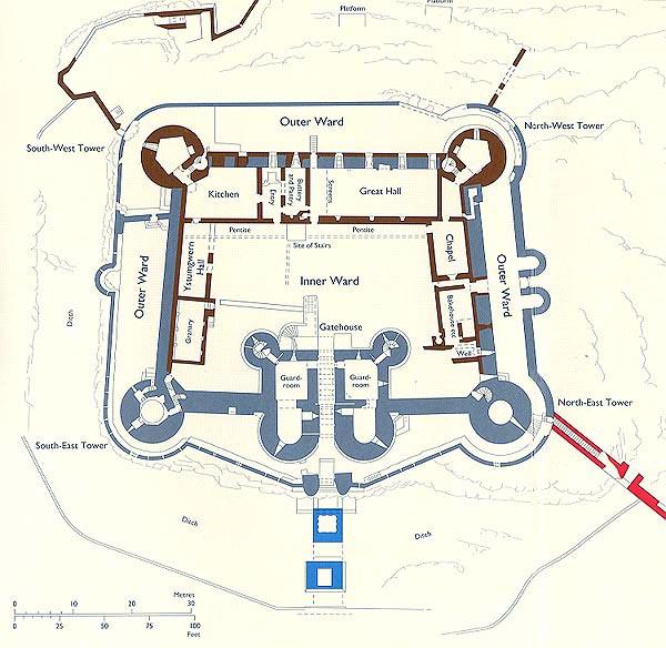 Harlech Castle Floor Plan CastleHarlech Car TuningHarlech