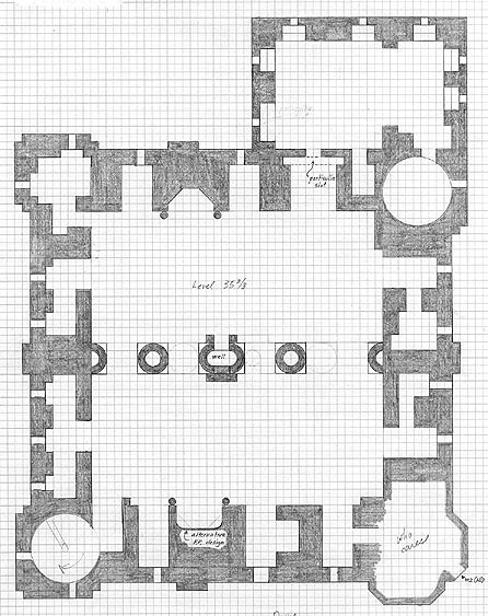 Floor Plan of the castle